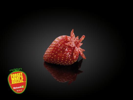 Webank Print Ad -  Strawberry