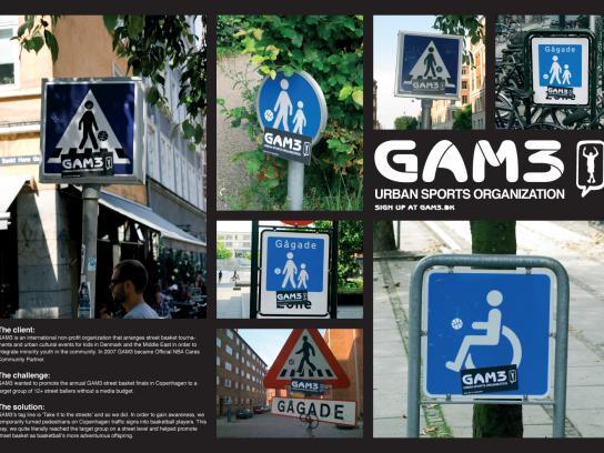 GAM3 Ambient Ad -  Traffic signs