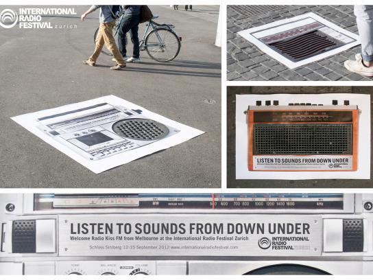 International Radio Festival Outdoor Ad -  Streetposters