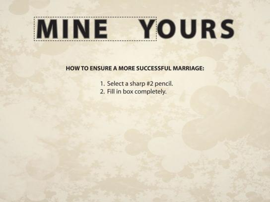 Strongermarriage.com Print Ad -  Mine