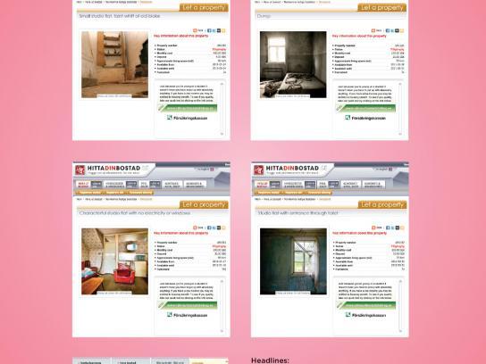 Försäkringskassan Digital Ad -  Crappy Cribs, Internet