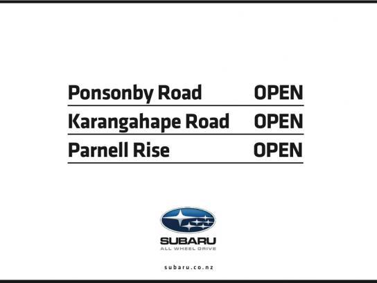 Subaru Print Ad -  Auckland Snow