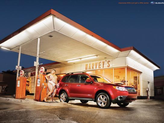 Subaru Print Ad -  Sexy, 1