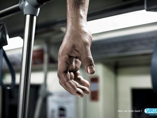Sanzer Print Ad -  Subway