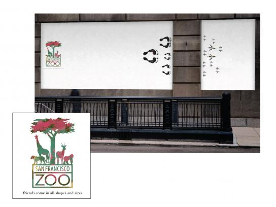 San Francisco Zoo Outdoor Ad -  Birds