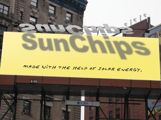 SunChips Ambient Ad -  Solar energy