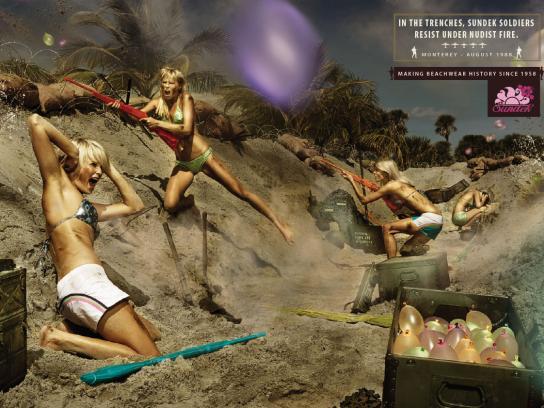 Sundek Print Ad -  Women