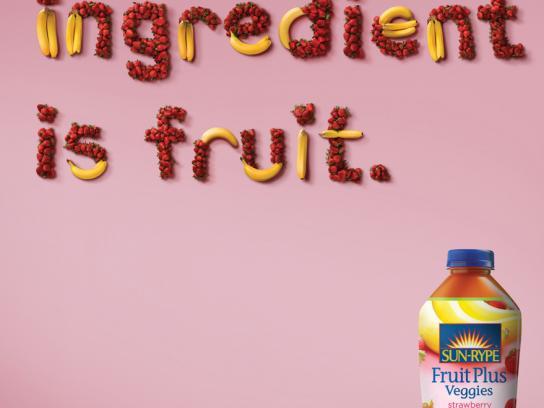 Sun-Rype Print Ad -  Fruit