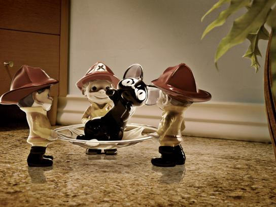 SuperBonder Print Ad -  Firefighter