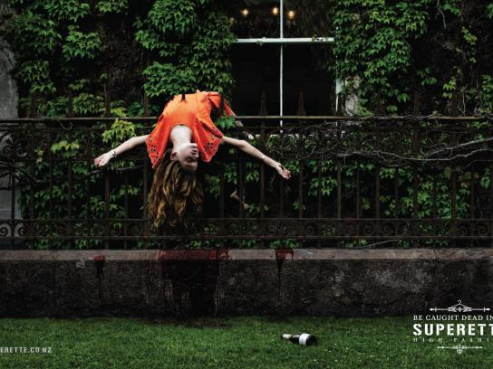 Superette Print Ad -  Fence