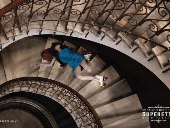 Superette Print Ad -  Stairs