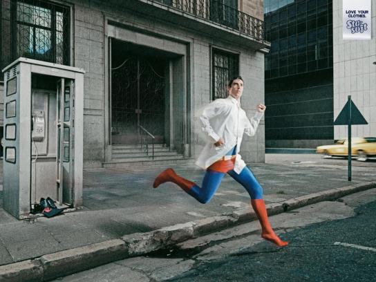 Colgate Palmolive Print Ad -  Superhero