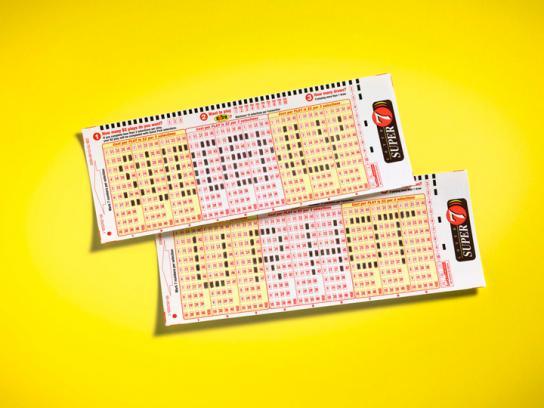 Lotto Super 7 Print Ad -  Hot