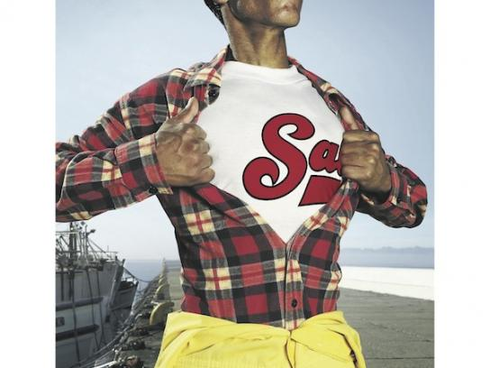 Saldanha Pilchards Print Ad -  Superman