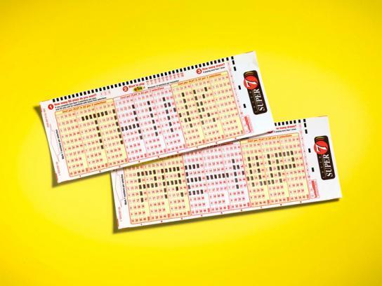 Lotto Super 7 Print Ad -  Pre-nup