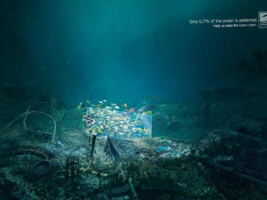 Surfrider Foundation Print Ad -  Aquarium