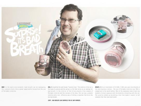 Listerine Direct Ad -  Surprise! It's bad breath