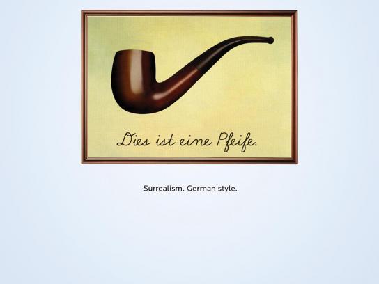 Bank Forum Print Ad -  Surrealism