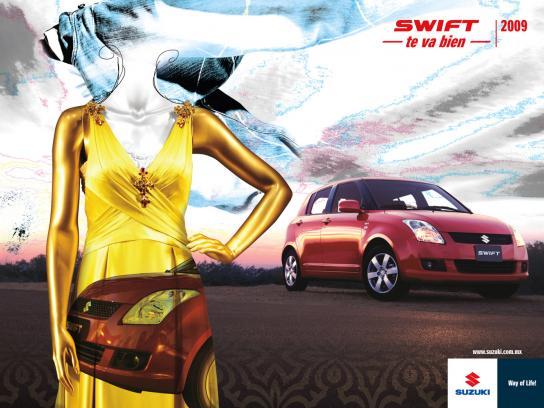 Suzuki Print Ad -  Women