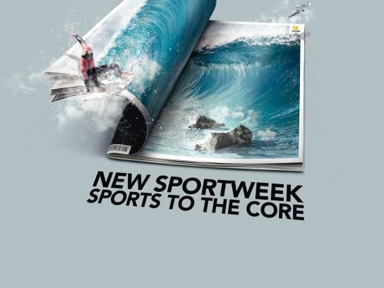 La Gazzetta dello Sport Print Ad -  Surf