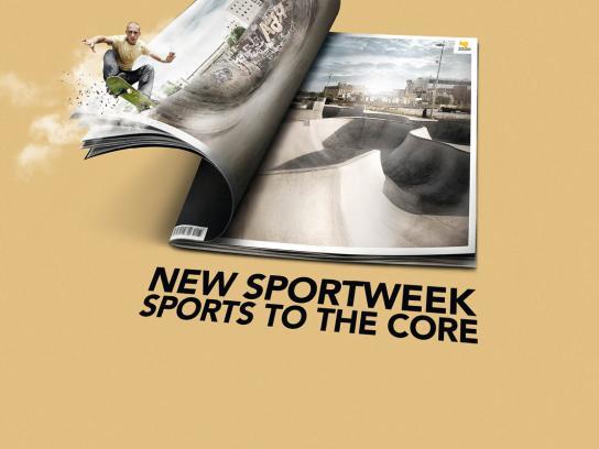 La Gazzetta dello Sport Print Ad -  Skateboard