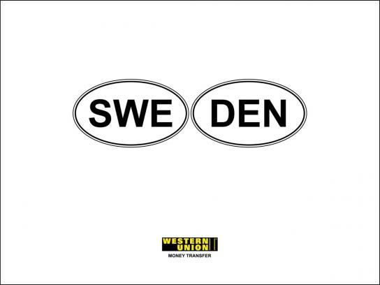 Western Union Print Ad -  Sweden