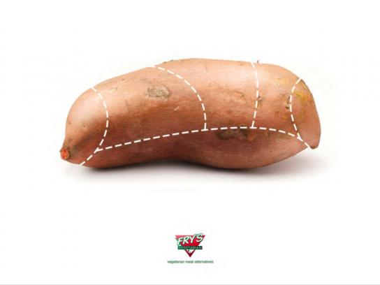 Fry's Print Ad -  Sweet potato