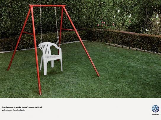 Volkswagen Print Ad -  Swing
