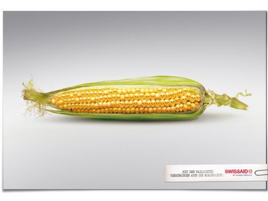 Swissaid Print Ad -  Corncob