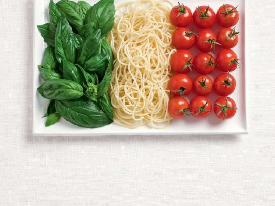 Sydney International Food Festival Print Ad -  Flags, Italy
