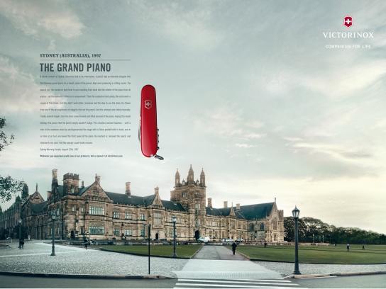 Victorinox Print Ad -  Fan Letters, Sydney