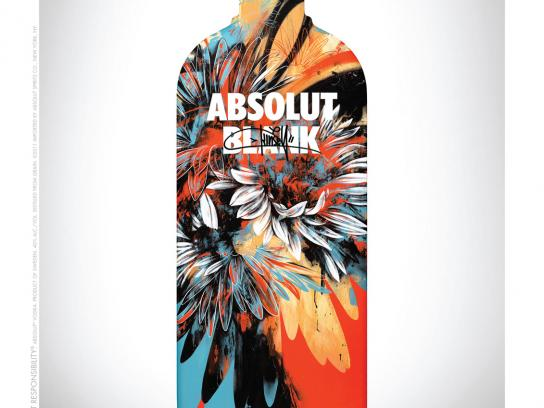 Absolut Print Ad -  Blank, Kinsey