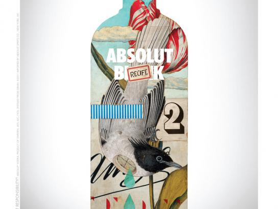 Absolut Print Ad -  Blank, Recife