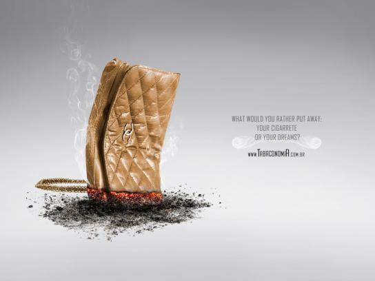 Tabaconomia Print Ad -  Purse