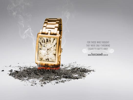 Tabaconomia Print Ad -  Watch