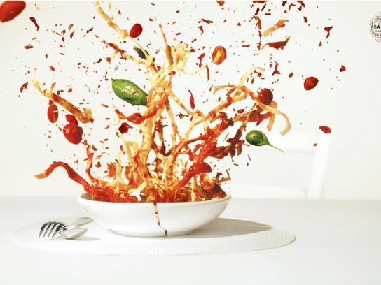 Tabasco Print Ad -  Pasta