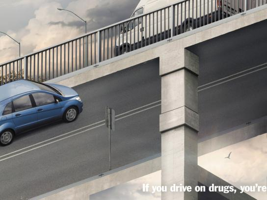 TAC Print Ad -  Confusion, Overpass