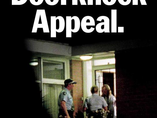 TAC Print Ad -  Doorknock