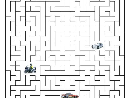 Transport Accident Commission Print Ad -  Maze