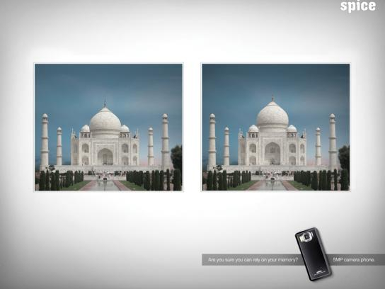 Spice Print Ad -  Taj Mahal
