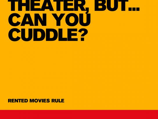Take One Print Ad -  Cuddle