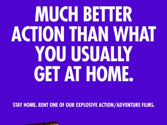 Take One Print Ad -  Action