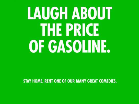 Take One Print Ad -  Gasoline