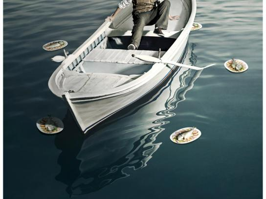 Talcid Print Ad -  Boat