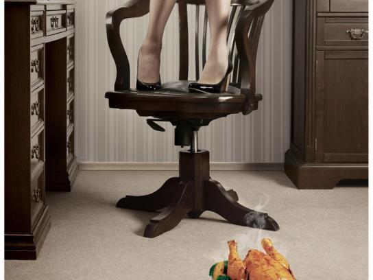 Talcid Print Ad -  Chair