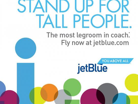 JetBlue Print Ad -  Tall