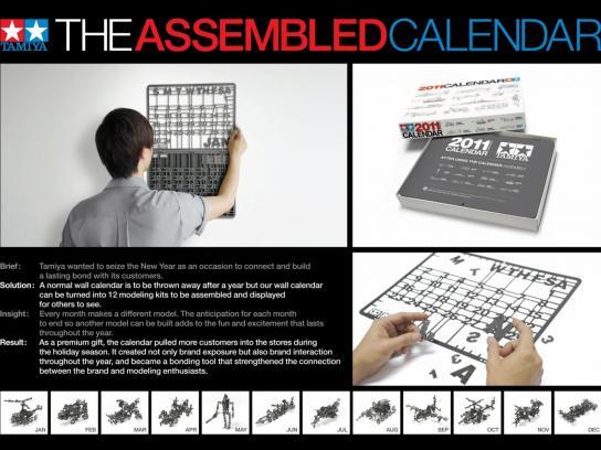 Tamiya Direct Ad -  Tamiya Calendar