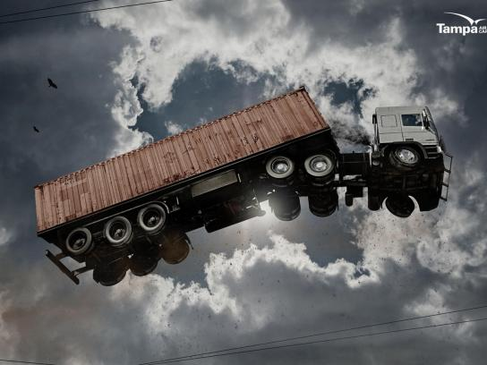 Tampa Print Ad -  Truck