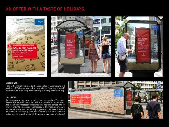 Vodafone Outdoor Ad -  Summer special
