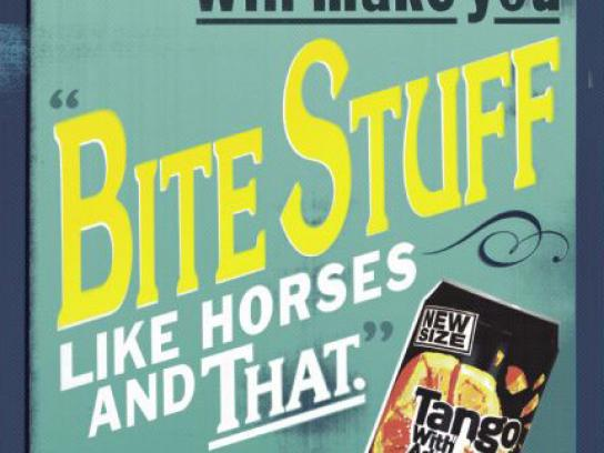 Tango Print Ad -  Bite